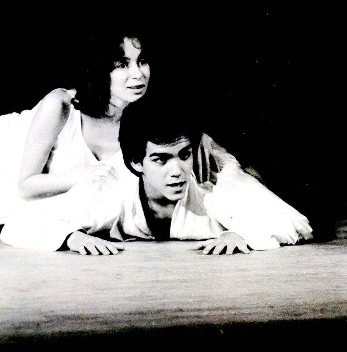 1977-L-Échange-Paul-Claudel-Centre-Culturel-de-Garches-Lise-Beraha-et-Didier-Bourdon